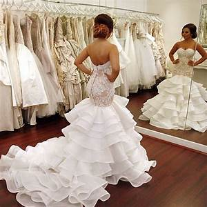 aliexpresscom buy 2017 fashionable ruffles wedding With see through wedding dress pictures