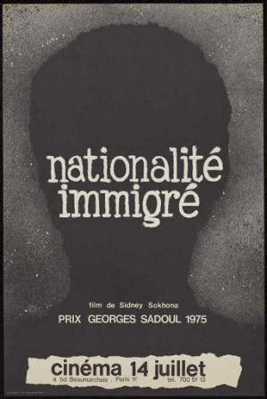 Nationalité immigré (1976) - FilmAffinity
