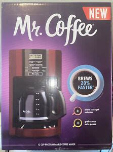 Whether you consider making coffee a daily chore or a gratifying ritual, there is no denying that drinking a hot drip coffee makers offer some of the simplest approaches to brewing. NEW* Mr. Coffee 2082689 12 Cup Automatic Drip Coffee Maker - Red 96116936548 | eBay
