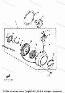 Yamaha Atv 2001 Oem Parts Diagram For Alternate Engine