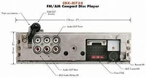 Sony Xplode Cdx-m730