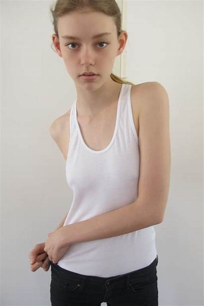 Models Ondria Hardin Children Teen Spread Young