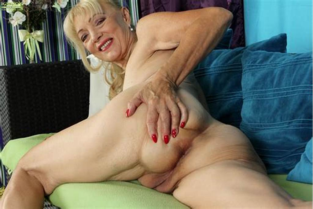 #Blonde #Gilf #Is #Revealing #Her #Old #Muff #Saggy #Boobs #And #Ass