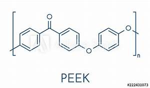 Polyether Ether Ketone  Peek  Polymer  Chemical Structure