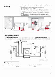 Bosch Wkd28351gb Washer Instruction Manual And