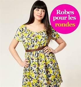 Robe Pour Femme Ronde : morpho robes des robes pour les silhouettes rondes ~ Nature-et-papiers.com Idées de Décoration