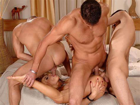Bonny Babes Rigid Double Booty Orgy And Pussy Piledriver