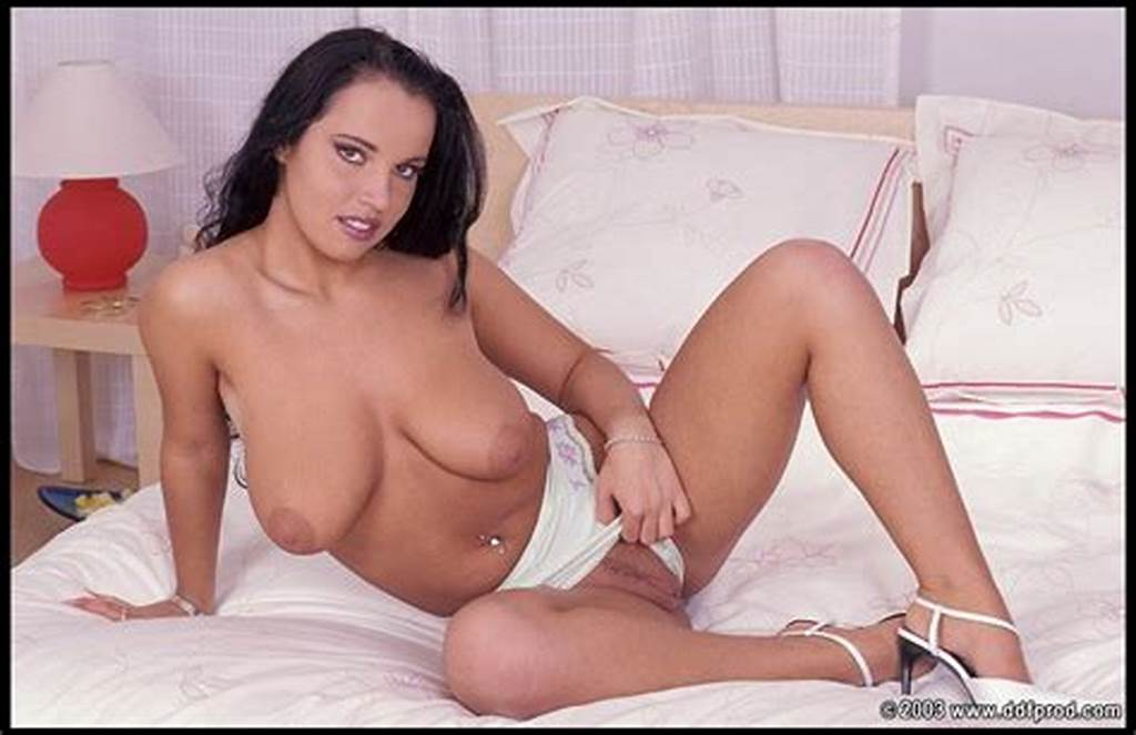 #Dirty #Brunette #Babe #Laura #Lion #With #Big #Tits #Sitting #On