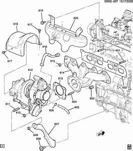 2011 Buick Regal Hose  Engine Crankcase Ventilation  Hose