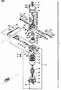 Yamaha Sterndrive Parts V6 Dr Dl 1990 Oem Parts Diagram
