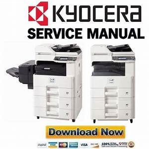 Kyocera Mita Taskalfa 255 255b 305 Service Manual Repair Guide Parts Catalog