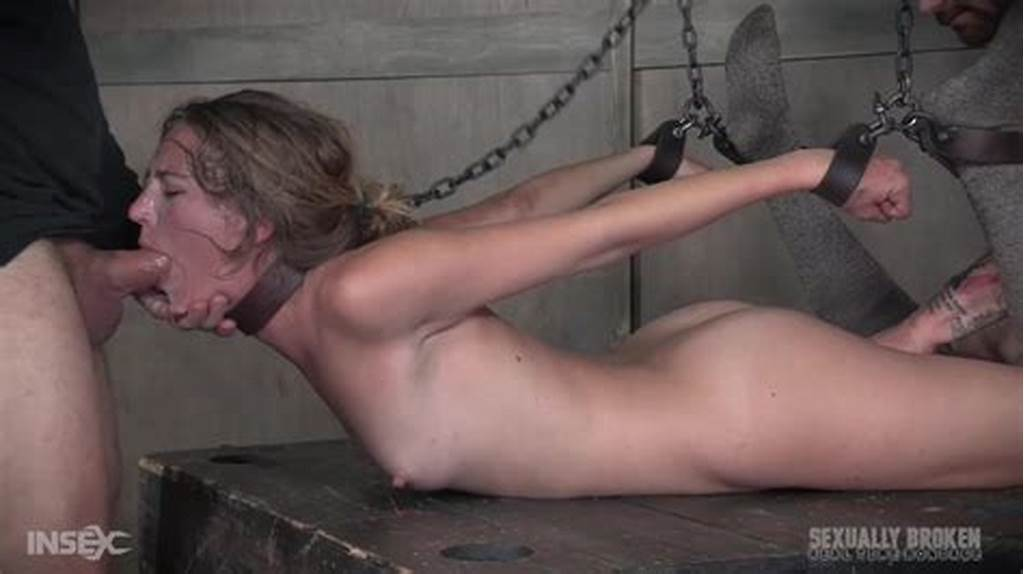 #Sexy #Slave #Girl #Mona #Wales #Gets #Her #Throat #And #Mouth