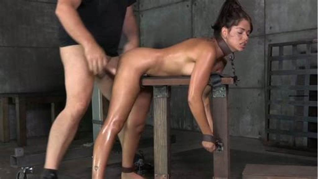 #Shackled #In #Strict #Bondage #Ava #Dalush #Gets #Mouth #Banged #Rough