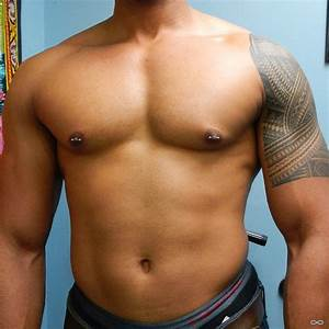 Male Nipple Piercings