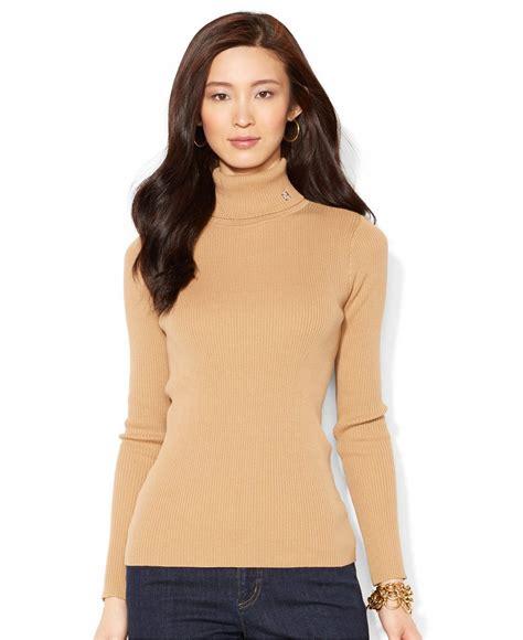 Buy polo ralph lauren women's clothing at house of fraser. Lauren Ralph Lauren Long-Sleeve Turtleneck Sweater ...