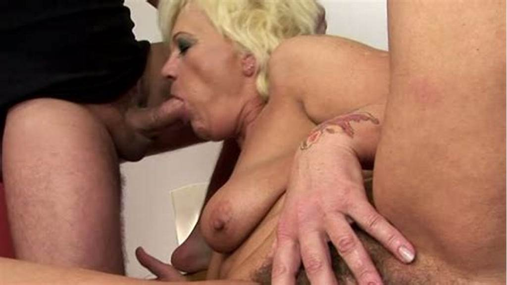 #Old #Woman #Gives #Blowjob #And #Gets #Her #Hairy #Pussy #Eaten