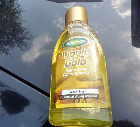Taisnība par unikālo...Triplewax Liquid Gold auto šampūnu ...
