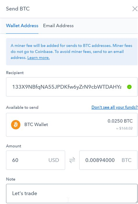 Coinbase has started out only as a bitcoin brokerage service (selling bitcoins directly to customers), but additional services were added along the way. How To Transfer Bitcoin From Coinbase To Binance Without Fees | Earn Bitcoin On Telegram