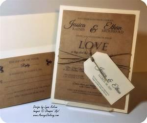 beautiful stampin up wedding invitations gallery styles With wedding invitations stamping ideas