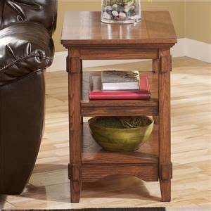 Signature Design By Cross Island Brown Rectangular End Table Cross Island Mission Rectangular Storage Lift Top Cocktail