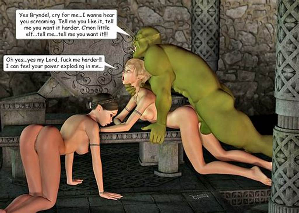 #Sexy #3D #Babes #Having #Sex #With #Hugecocked #Monsters