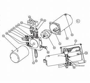 Snowdogg - Ex90 Snowplow Parts Diagram