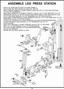 Bodycraft Galena Strength Users Manual