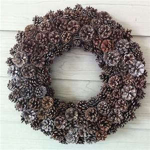 Cute, Fall, Crafts, Made, With, Pine, Cones
