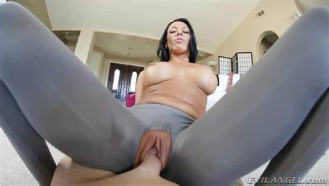 Husband Her Shaved Puss Banged To Wear Open Crotch Underwear