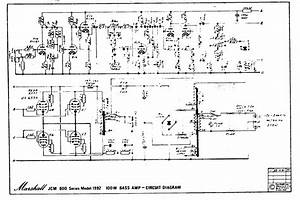 Marshall Jcm800 Bass Amp 1992 100w Schematic