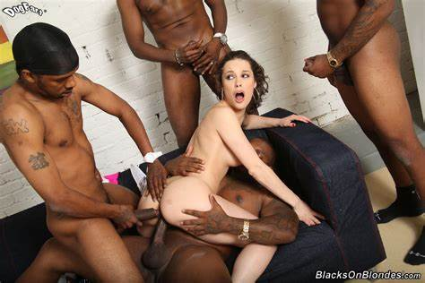 Interracial Orgy And Dp With Nikita Bellucci