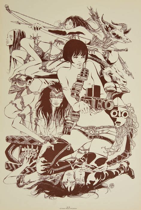 """Poster affiche called la scala by guido crepax, only 20 copies, here n. Crepax, Guido - advertising poster """"Valentina"""" (1970s) - Catawiki"""