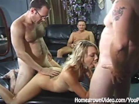 Gangbang Grey Haired Take Turns Fucks