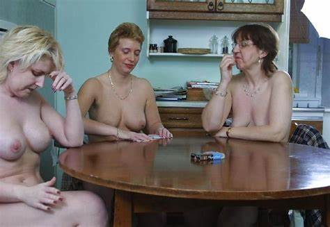 Granny Plays Strip Poker Then Getting Double