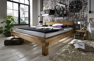 La Natura Möbel : balkenbett massivholz eiche odense von la natura g nstig ~ Watch28wear.com Haus und Dekorationen