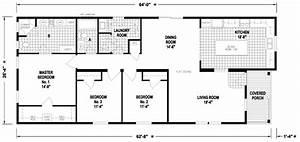 1997 Redman Mobile Home Floor Plan