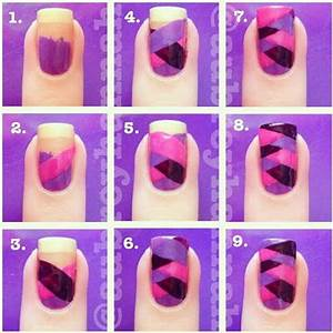 Cool And Easy Step By Step Nail Art Designs - Hative
