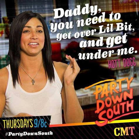 """The party down south craziness begins thursday, january 16 at 10/9c, only on cmt! Hot diggity dog! Time to see what Hannah """"Hott Dogg ..."""