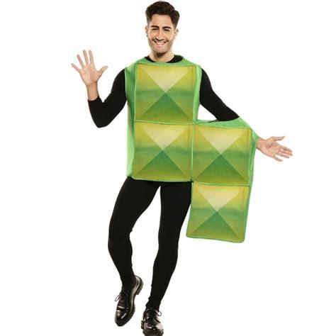 Disfraz Tetris Verde para Adulto【Envío en 24h】