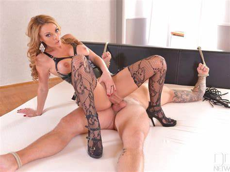 Smothering Domination Fishnet Mistress Coach