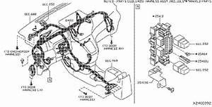 Nissan Nv200 Harness Main  Body  Doors  Engine