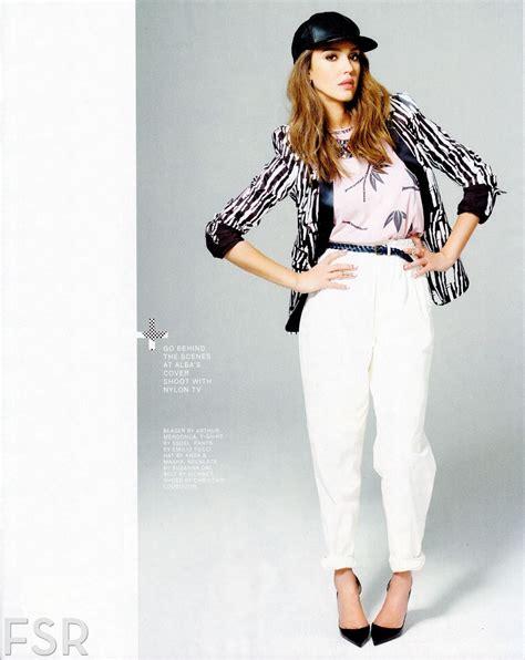 jessica alba  nylon magazine march  issue hawtcelebs