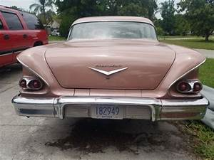 1958 Chevy Biscayne 4 Door For Sale