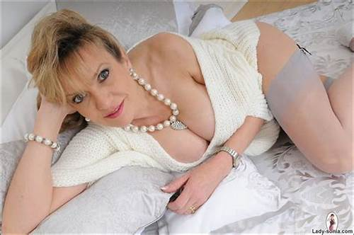 Classy British Mistress On Her Bed #Panties #And #Stockings #Glamorous #Classy #Milf #Sonia #On #Her