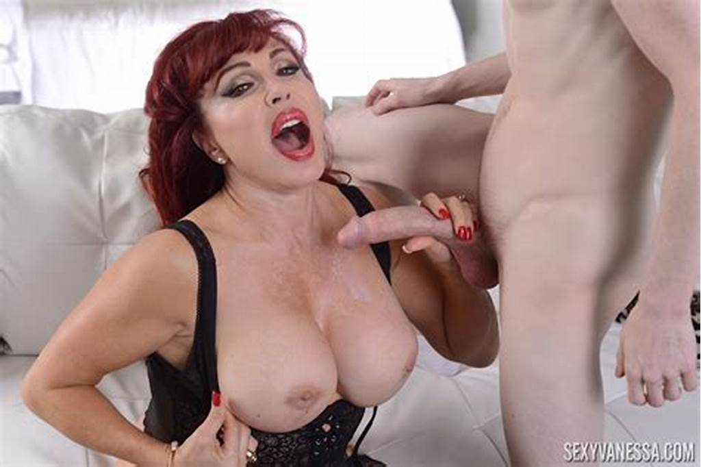 #Milf #Sexy #Vanessa #Sucks #A #Young #Guy'S #Cock #And #Gets #Fucked