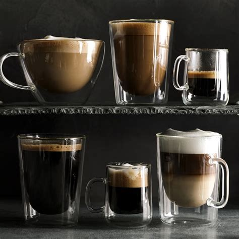 Shop for double wall coffee mugs at walmart.com. Double Wall Tall Coffee Mugs, Set of 4   Williams Sonoma