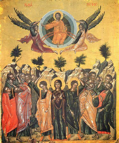 """Tag des osterfestkreises gefeiert, also 39 tage ostersonntag, beziehungsweise zehn tage vor pfingsten. """"Wüstenlicht"""" Orthodoxie-Orthodoxy : Christi Himmelfahrt ..."""