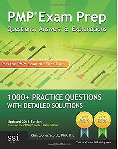 Pmp Exam Prep  Questions  Answers   U0026 Explanations  1000
