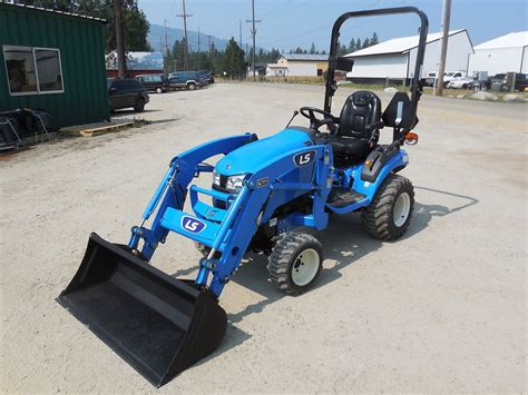 Ls models icrm met roco 1769. LS Model MT122HST Tractor & Loader, 21.5 HP Diesel Engine, 4WD, Hydrostatic Transmission