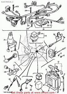 Yamaha Fz750 Genesis 1985  F  Usa Electrical 2